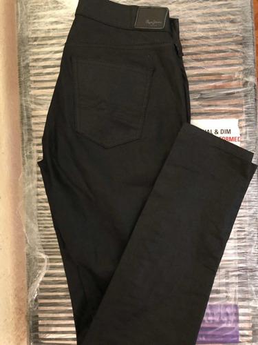 Pantalon Negro Satinado Pepe Jeans Mujer Mercado Libre