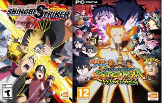 Combo Naruto To Boruto Shinobi Striker, Ultimate Ninja Storm