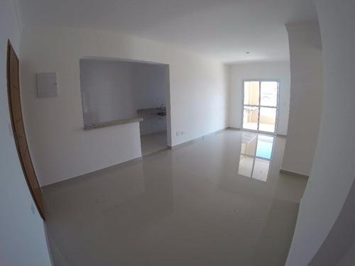 Apartamento Novo Com 3 Dormitórios Sendo 2 Suítes À Venda, 104 M² Por R$ 670.000 - Canto Do Forte - Praia Grande/sp - Ap1867