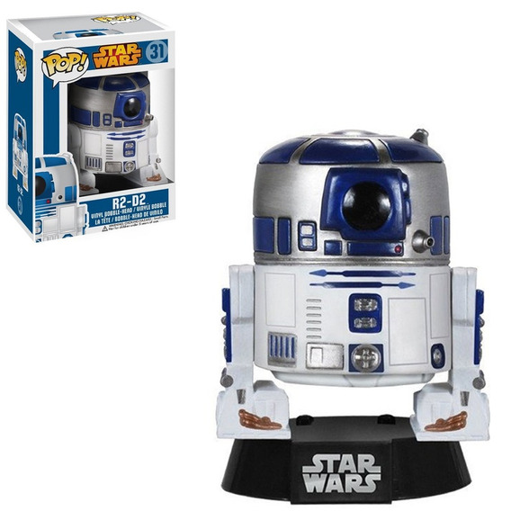 Figura Funko Pop Star Wars R2-d2 31