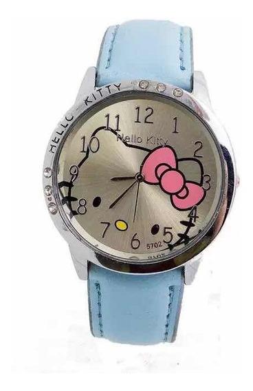 Reloj Hello Kitty Detalles Cristal Kitty Mujer- Envio Gratis