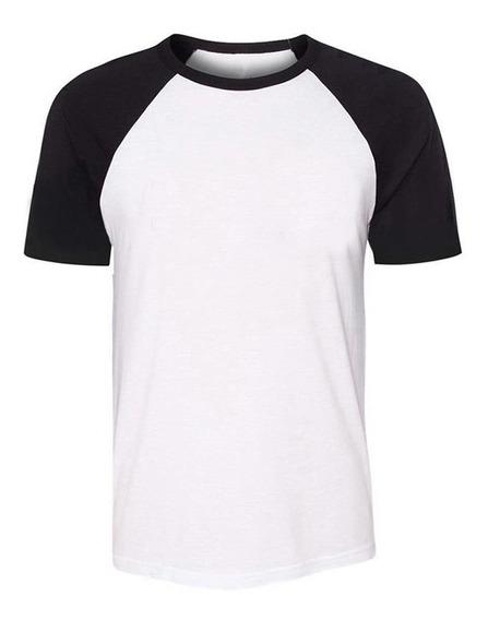 Camiseta Básica Blusa Reglan Masculina Promoção Algodão 01