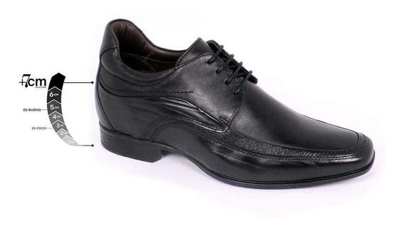 Zapato Formal Manager Negro Max Denegri+7cms De Altura-30%