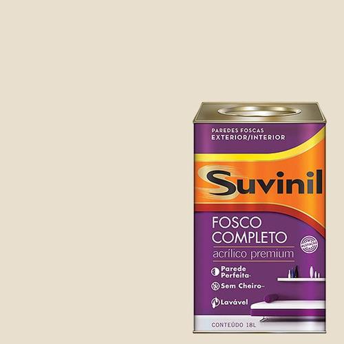 Tinta Acrilica Fosca Premium Suvinil Cesta De Vime 18lts.