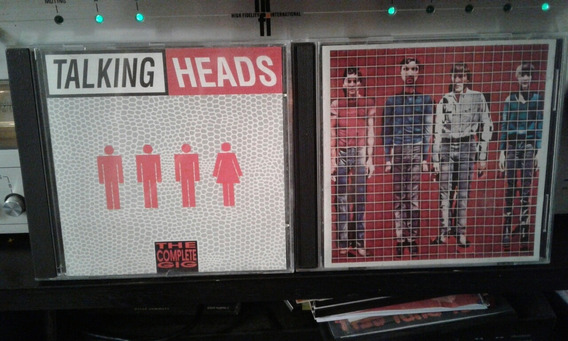 Cds Talking Heads (importados)