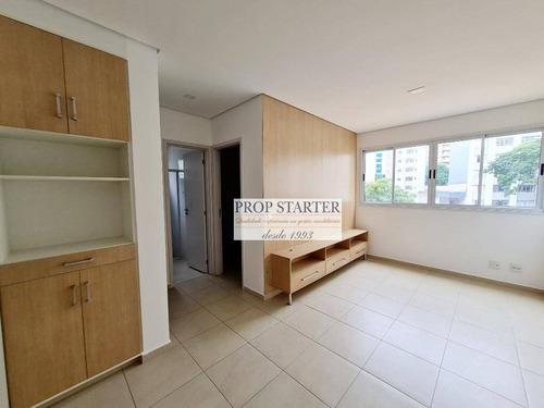 Imagem 1 de 29 de Apartamento Em Prédio Novo Com 2 Dormitórios Para Alugar, 50 M² Por R$ 2.600/mês - Santa Cecilia - Prop Starter Imóveis - Ap0865