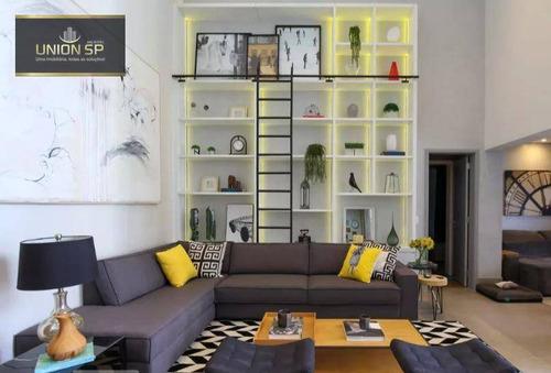 Apartamento Com 3 Dormitórios À Venda, 178 M² Por R$ 1.750.000 - Panamby - São Paulo/sp - Ap50636