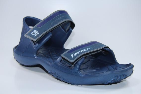 Sandalia Faraon Azul
