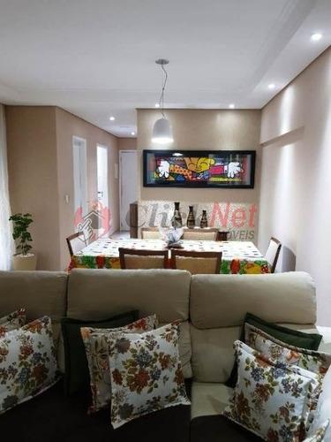 Imagem 1 de 30 de Apartamento À Venda No Bairro Barcelona Em São Caetano - 7021