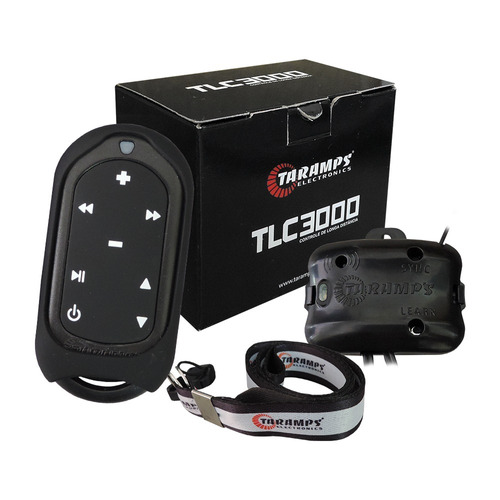 Imagem 1 de 7 de Controle Remoto De Longa Distância Tlc3000 Preto Taramps