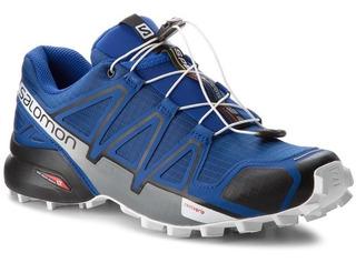 Salomon Zapatilla Trail Running Hombre Speedcross 4 Azul