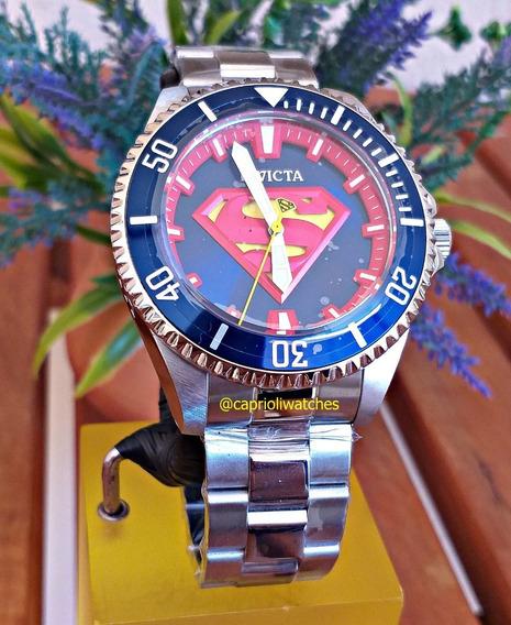 Relógio Invicta Superman 40mm Automático 26898 Original