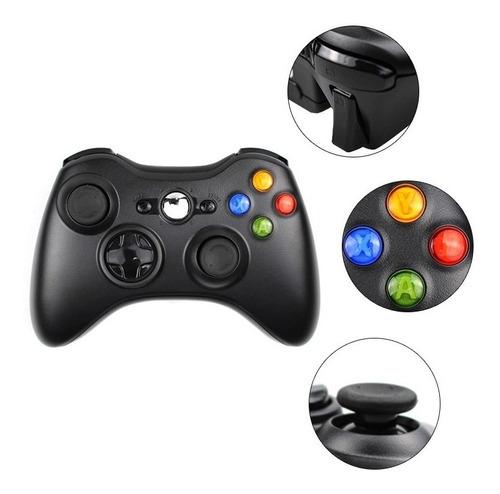 Control Xbox 360 Inalambrico 2.4g Alcance 9 Metros + 2 Pilas