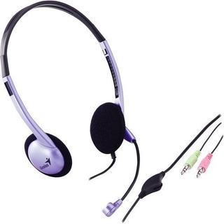 Auriculares Para Colocar Sobre Las Orejasgenius Hs-02b Au..