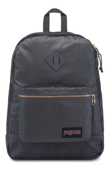 Zonazero Mochila Jansport Super Fx Deep Grey Gold