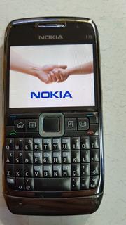 Nokia E71 Preto Metalico Operadora Vivo Com Carregador.