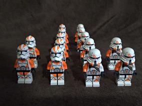 Lego Star Wars Minifigure Clone Trooper 212 Sw522 E Sw523