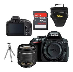 Nikon D5300 18-55mm+ 32gb+ Bolsa+mini Tripé- Pronta Entrega