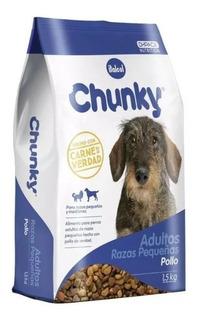 Chunky Adulto Raza Pequeña 8 Kilos + - kg a $8750