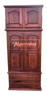 Placard De Algarrobo 1.00 X 2.40m + Embalado + Envio Gratis