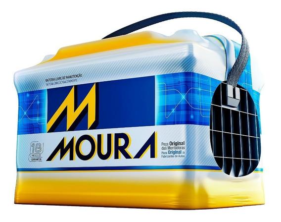 Bateria Moura 60ah - Chevrolet Meriva (2002 A 2013) M60gd