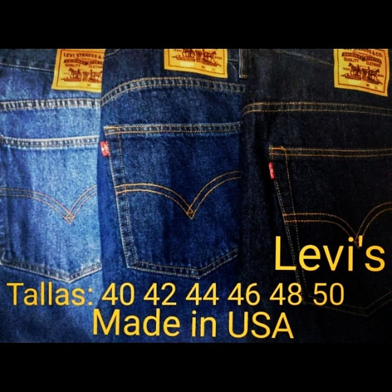 Jeans Levis Made In Usa Talla Extra Grande 40 42 44