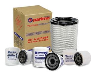 Kit Filtración Partmo Chevrolet / Isuzu Npr Modelo 2011-2018