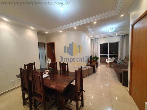 Imagem 1 de 14 de Apartamento Edifício Solar Do Barão 84 M² Jacareí Sp Andar Alto Sol Manhã - 932