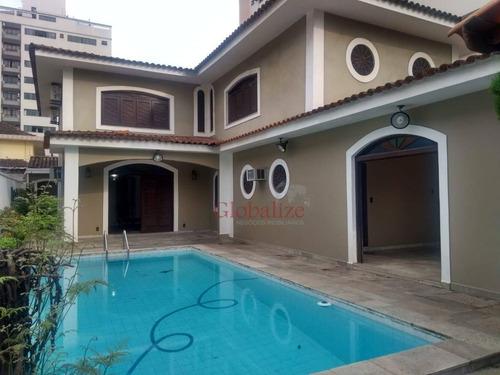 Casa Planejada Com 4 Dormitórios Na Ponta Da Praia, 340 M², R$2.700.000,00. - Ca0007