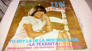Yeni Lp De 33 Rpm Yo Soy La De La Mochila Azul 292