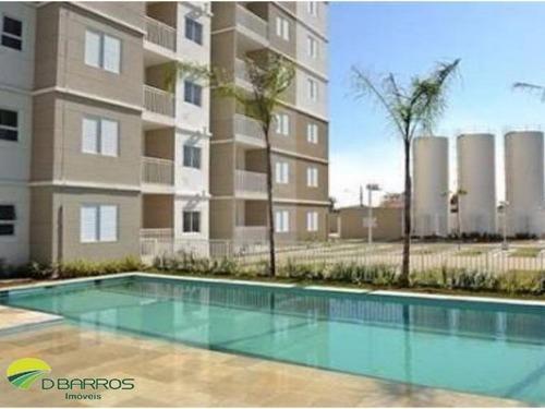 Imagem 1 de 17 de Apartamento No Condomínio Jardim Das Orquídeas Em Taubaté/sp Com 70 M²,   Excelente Localização Próximo Ao Supermercado Fantástico . - 4521 - 34164232