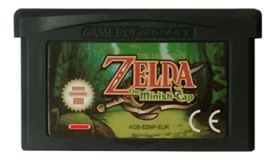 Legend Of Zelda Minish Cap Português Game Boy Advance Gba