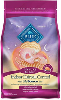 Blue Buffalo Blue Indoor Hairball Control Mature Chicken Y