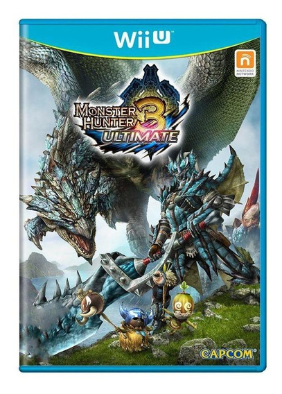 Monster Hunter 3 Ultimate Wii U Mídia Física Pronta Entrega