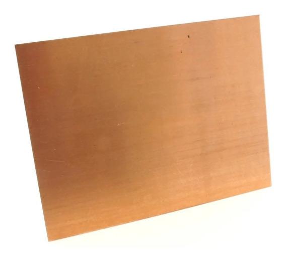 Placa De Cobre Para Gravura 1mm 20 X 15 Cm
