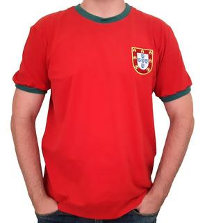 Camisa Portugal Retrô Década De 1960