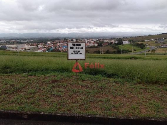 Terreno À Venda, 250 M² Por R$ 80.000 - Caçapava Velha - Caçapava/sp - Te1144