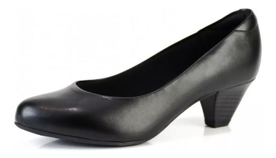 Sapato Scarpin Salto Quadrado Confortavel Modare 7005500