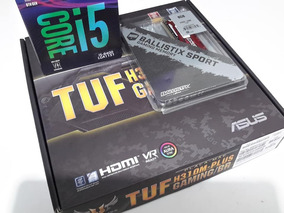 Kit 8º Gen I5 8400 + H310m Asus Tuf + 8gb Ddr4 2400mhz