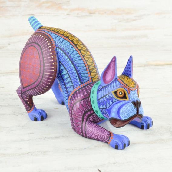 Magia Mexica | Alebrijes Artesania | Perro #82 A1952