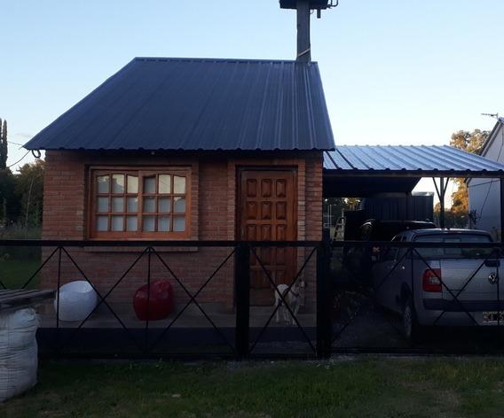 Casa De 3 Ambientes En Barrio Perimetrado