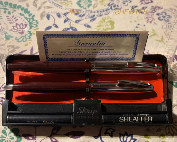 Antigua Lapicera Y Bolígrafo Sheaffer