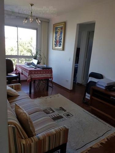 Imagem 1 de 15 de Apartamento Para Venda, 2 Dormitórios, Vila Mangalot - São Paulo - 2060