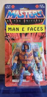 Motu Man E Faces Top Toys Carton Y Burbuja Replica Blister