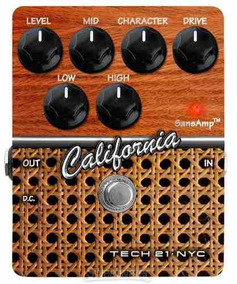 Pedal Tech 21 California Overdrive/distortion E Preamp