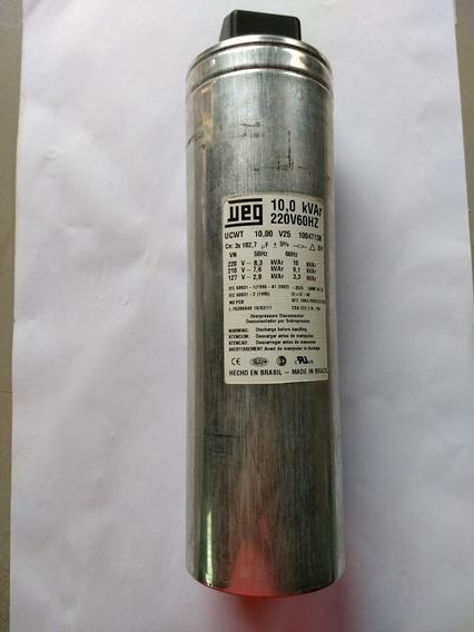 Capacitor Trifasico Weg 10 Kvar 220v