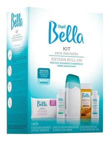 Kit Depilação Sistema Roll-on Bivolt Depil Bella