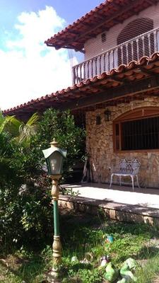 Casa Com 4 Dormitórios À Venda, 300 M² Por R$ 750.000 - Estrela Do Norte - São Gonçalo/rj - Ca0615