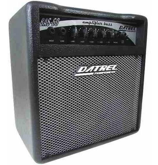 Amplificador Baixo 8 60w Est. - P/ Eventos
