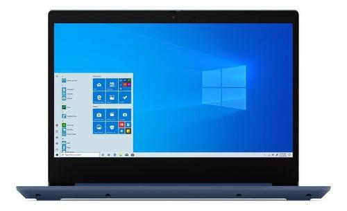 "Imagen 1 de 6 de Laptop Lenovo IdeaPad 14IIL05  abyss blue 14"", Intel Core i5 1035G1  12GB de RAM 256GB SSD, NVIDIA GeFroce MX330 1366x768px Windows 10 Home"